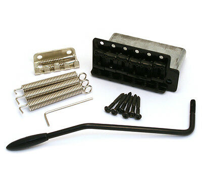 Black STEEL BLOCK Tremolo for Vintage Fender Stratocaster/Strat® SB-STEEL-B