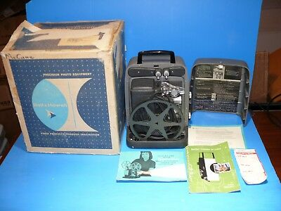 VINTAGE BELL AND HOWELL 8mm AUTOMATIC PROJECTOR MODEL 245