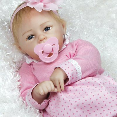"Paradise Galleries Lifelike Baby Doll - FlexTouch Silicone Vinyl ""Little Lara"""