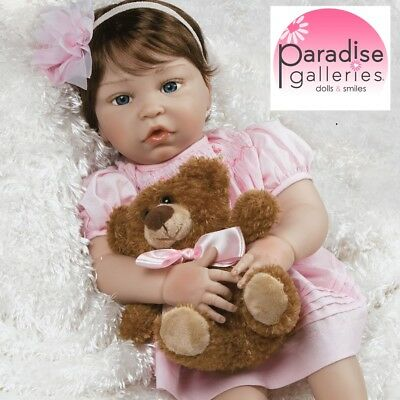 Paradise Galleries Reborn Toddler Baby - FlexTouch Silicone Vinyl Pretty in Pink