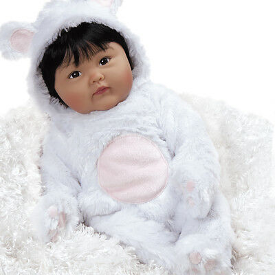 Paradise Galleries Reborn Asian Baby Doll Chilly Lily - 19 inch Chinese Doll
