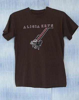 Alicia Keys 2008 As I Am The World Tour Concert TShirt Size S / M Chest 37""
