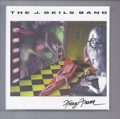 The J. GEILS BAND empty official Freeze Frame Promo box for JAPAN mini lp cd