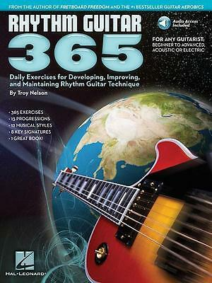 Rhythm Guitar 365: Daily Exercises for Developing, Improving and Maintaining...