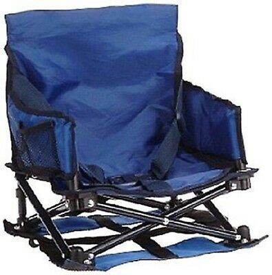 Regalo My Chair Folding Portable Booster Seat, With Travel Case & Cup Holder NEW