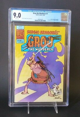 Groo The Wanderer Vol. 1, #1 (1982) CGC 9.0 White Pages Sergio Aragones