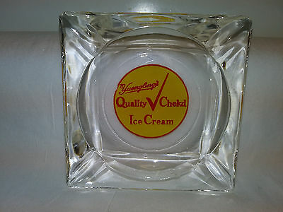 1930's Yuengling. QUALITY CHECKD ICE CREAM ASH TRAY POTTSVILLE P.A. RARE!!