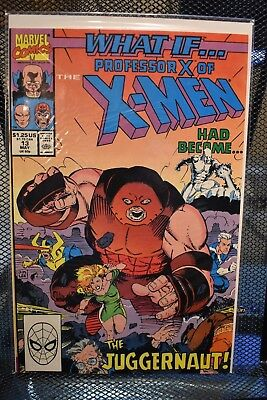 What If 2nd Series #13 Professor X of the X-Men Had Become the Juggernaut Marvel
