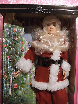 BARBIE I Love Lucy The Christmas Show Santa Fred Mertz PLATINUM 2009 Label NRFB