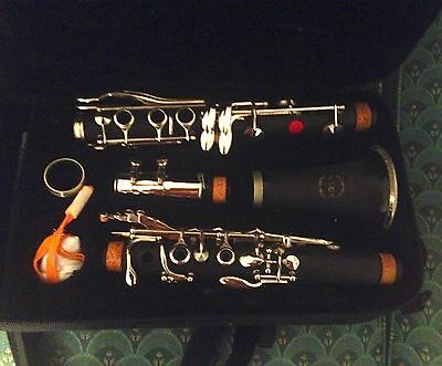 Black Solo Clarinet