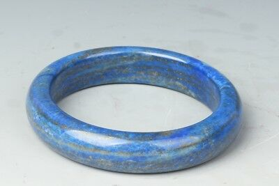 2.32inch China Exquisite Hand-carved lapis lazuli bracelet