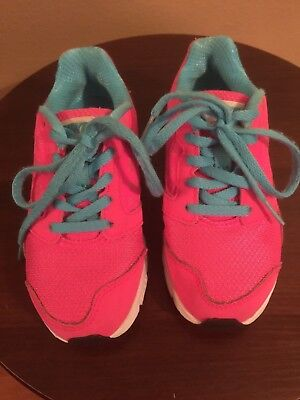 Nike Kids Girls Blue Pink Sneakers Tennis Shoes Size 11C