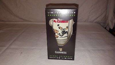 NIB 2012 Guinness Draught My Goodness My Guinness Lion Pint Beer Drinking Glass