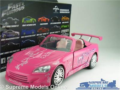 Honda S2000 Pinks Sukis The Fast and the Furious 1//32 Jada Modell Auto mit ode..