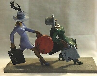 Annie Lee POWER SHOPPING Figurine Sass 'n Class Excellent Condition