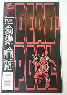 DEADPOOL The Circle Chase # 1 (of 4) Marvel Comics 1993 VF+