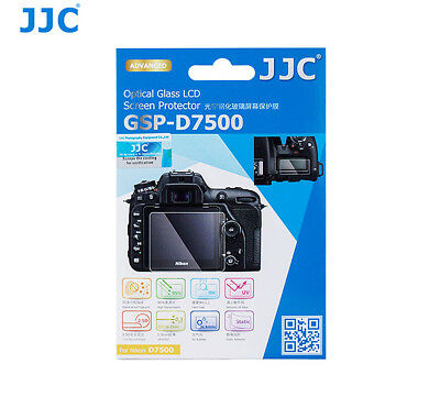 JJC LCP-D7500 Screen Guard Protector PET Film for Nikon D7500 Digital Camera