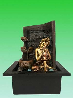 Buddha Water Feature - Journey Indoor Waterfountain (Pump LED 1 Year Warrnty)