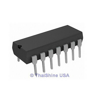 10 x NE556N NE556 IC General Purpose Dual Bipolar Timer - USA Seller - Free Ship