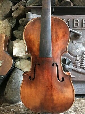 Old Violin No Label Probably French or German