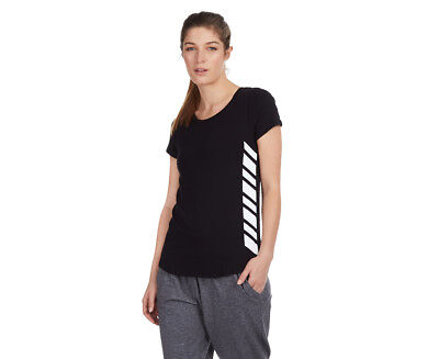 Russell Athletic Women's Mesh Panel Tee - Fuel