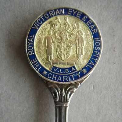 The Royal Victorian Eye Ear Hospital VLBA Charity Souvenir Spoon Teaspoon (T99)