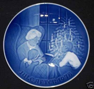 1978 Bing & Grondahl Plate: The Christmas Tale