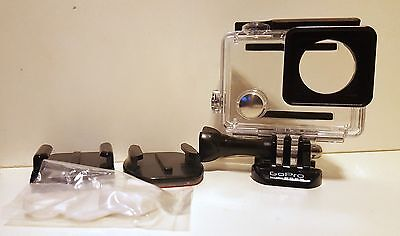 Genuine GoPro Hero 4 Standard Slim Waterproof Housing Hero 4 silver LCD screen