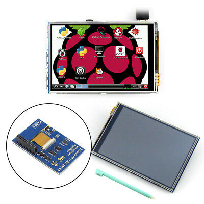 "NEW 3.5"" TFT Raspberry Pi 3 model B Touch Screen Display Monitor LCD + Touch Pen"