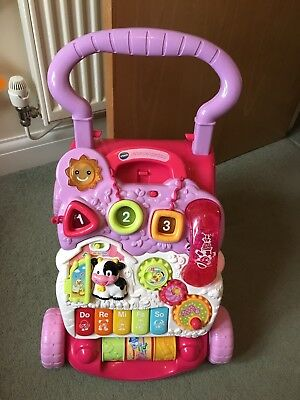 VTech First Steps Baby Walker - Pink!
