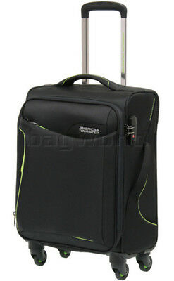 American Tourister Applite 2.0 Small/Cabin 55cm Softside Suitcase Black 68052