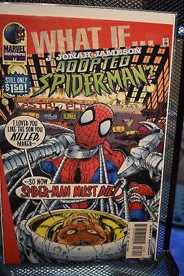 What If 2nd Series #82 J Jonah Jameson Adopted Spider-Man Marvel Comics JJJ