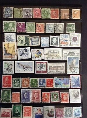 SCANDANAVIAN  stamps - Various Nations. Inc Better Values