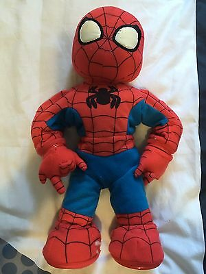 SPIDERMAN Battery Operated Moving Toy Movie