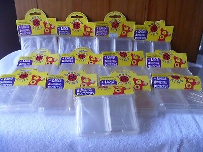 Skansen Original Beanie Kids Tag Protectors - New - 52 Large and 24 Small.