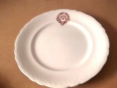 Rare And Unusual Side Plate   Smallwood Wesleyan Sunday School