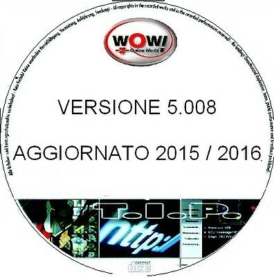WOW WURTH AUTODIAGNOSI GENERICA 5.00.8 Multilingua+BANCA DATI 2016+VIDEO GUIDA