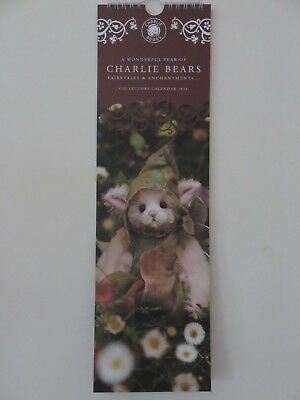 Charlie Bears - 2018 Calendar Brand New And Sealed