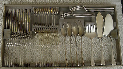 CZECHOSLOVAKIAN 800 SILVER CUTLERY SET (182 pieces)