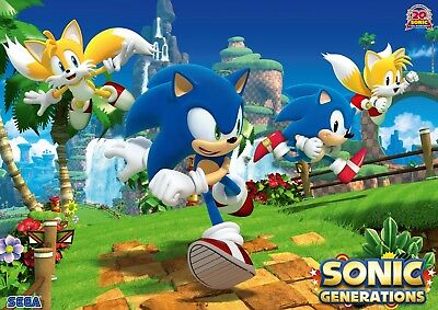 Sonic The Hedgehog 2 Glossy Poster