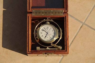 Deck watch Hamilton model 22 ship's clock chronometer WWII