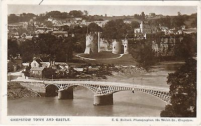 The Town, Castle & Bridge, CHEPSTOW, Monmouthshire