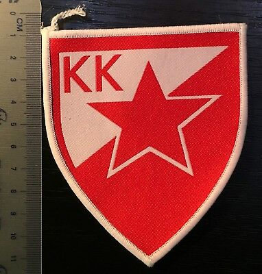 Patch Basketball Club Kk Red Star Belgrade Serbia