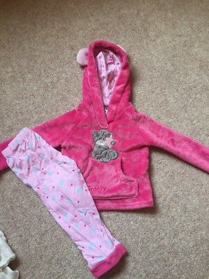 Girls Me To You Fluffy Pyjamas Age 12-18 Months