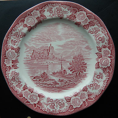 Vintage Lochs of Scotland, Royal Warwick of England, 11 inch Dinner Plate SB4921
