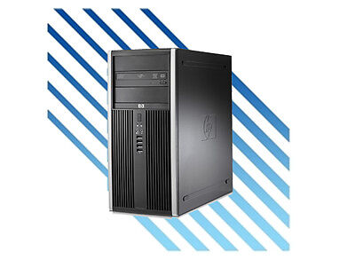 Pc Computer Fisso Economico Hp Elite 8000 Core 2 Duo Ram 4 Gb Hdd 250 Gb -Win 7P