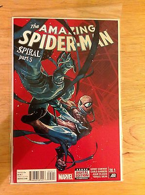 Marvel Comics Amazing Spider-Man Vol. 3 #20.1 NM (2015) Spiral Part 5