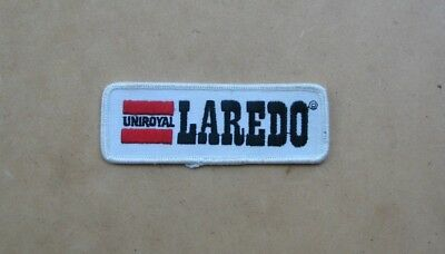 UNIROYAL LAREDO Advertising Embroidered Patch