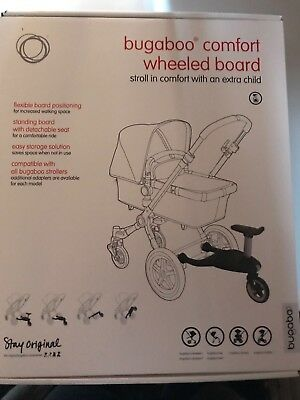 Bugaboo buggy board With Seat And adaptors