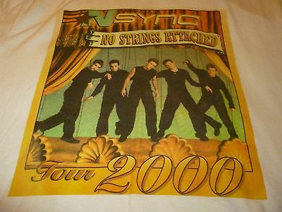 Nsync Vintage Tour Shirt ( Used Size L ) Nice Condition!!!